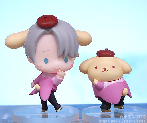 Link a Yuri on ICE x Sanrio Characters GSC pics 07