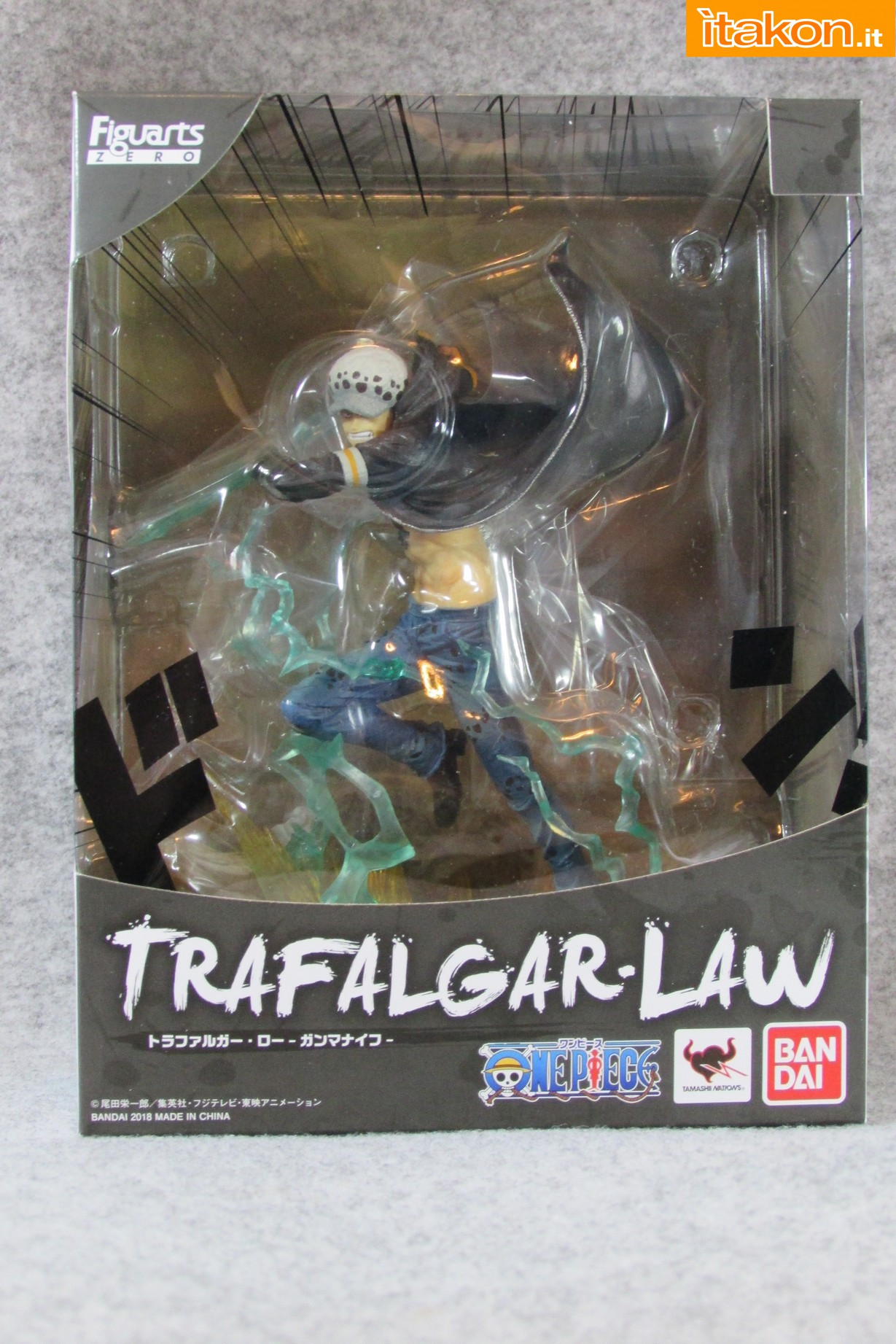 Link a One Piece Trafalgar Law Gamma Knife Figuarts ZERO Chou Gekisen Extra Battle Recensione Review Itakon.it 02
