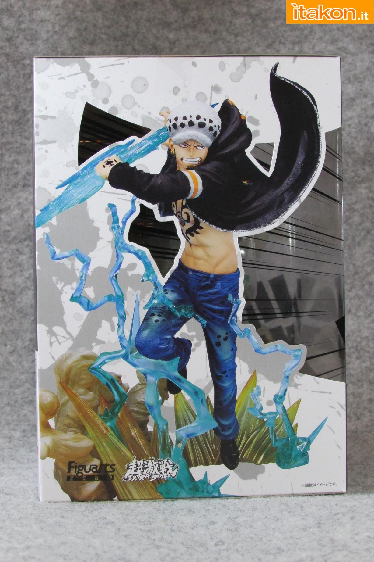 Link a One Piece Trafalgar Law Gamma Knife Figuarts ZERO Chou Gekisen Extra Battle Recensione Review Itakon.it 05