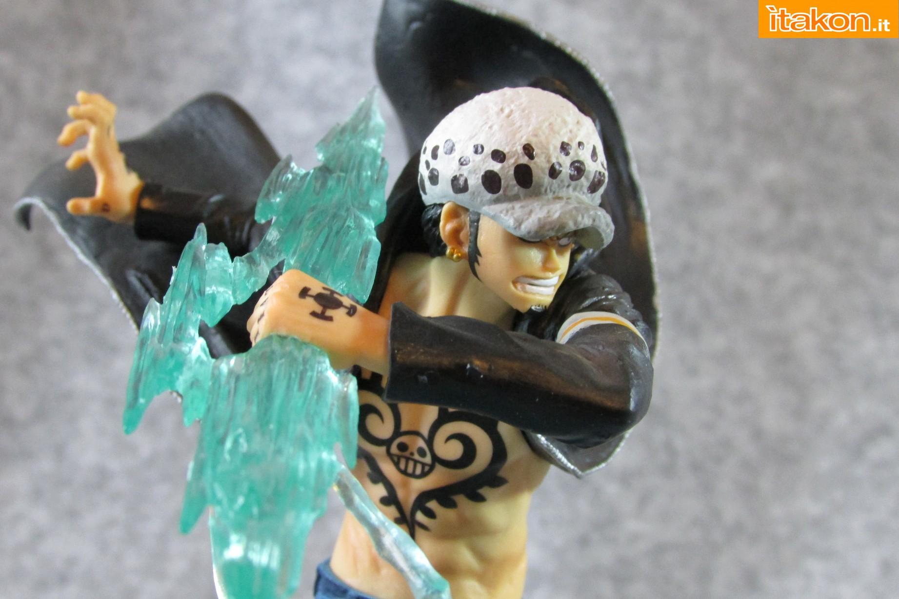 Link a One Piece Trafalgar Law Gamma Knife Figuarts ZERO Chou Gekisen Extra Battle Recensione Review Itakon.it 41