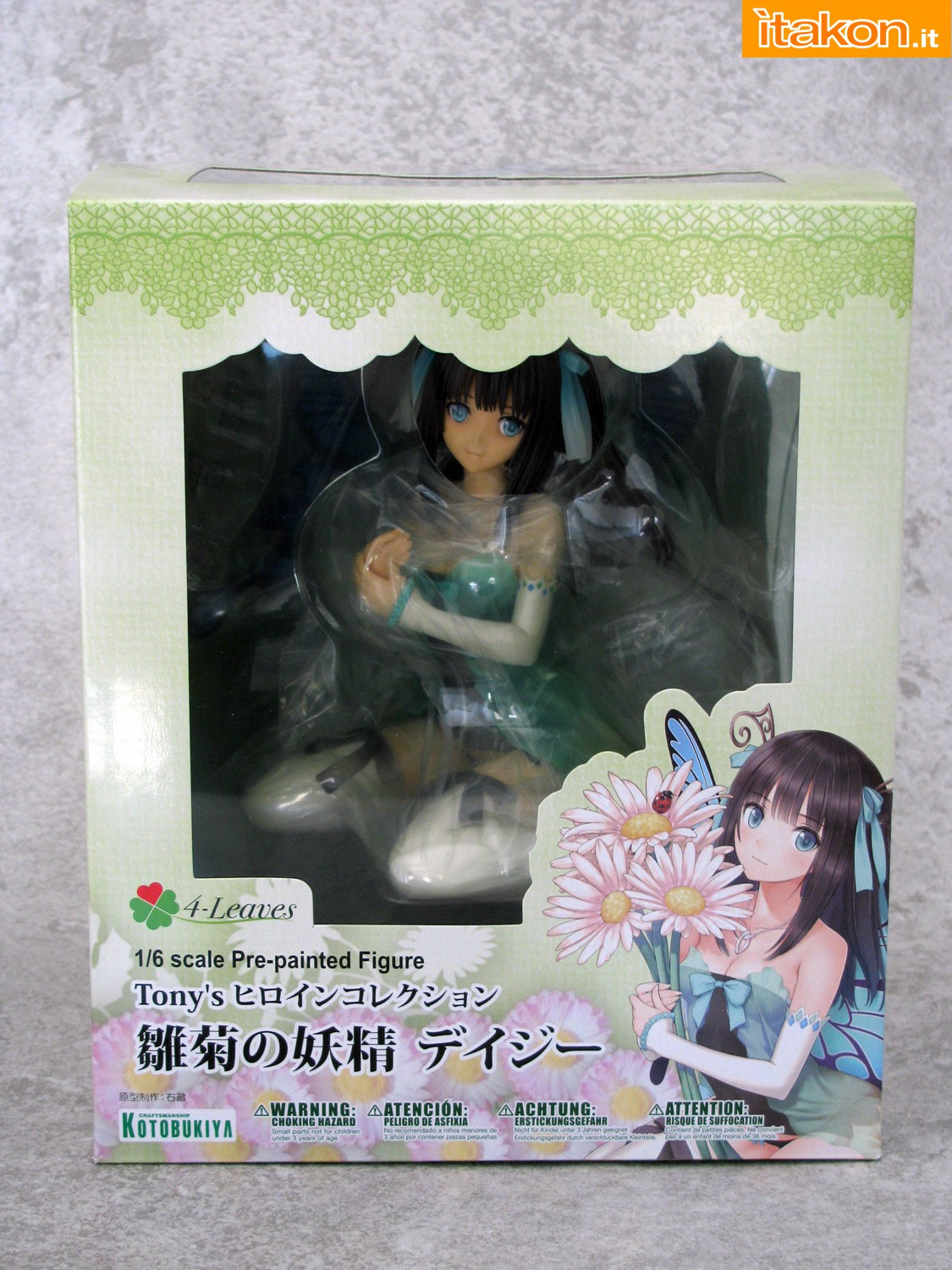 Link a 001 Daisy Tony Heroine Collection Kotobukiya recensione