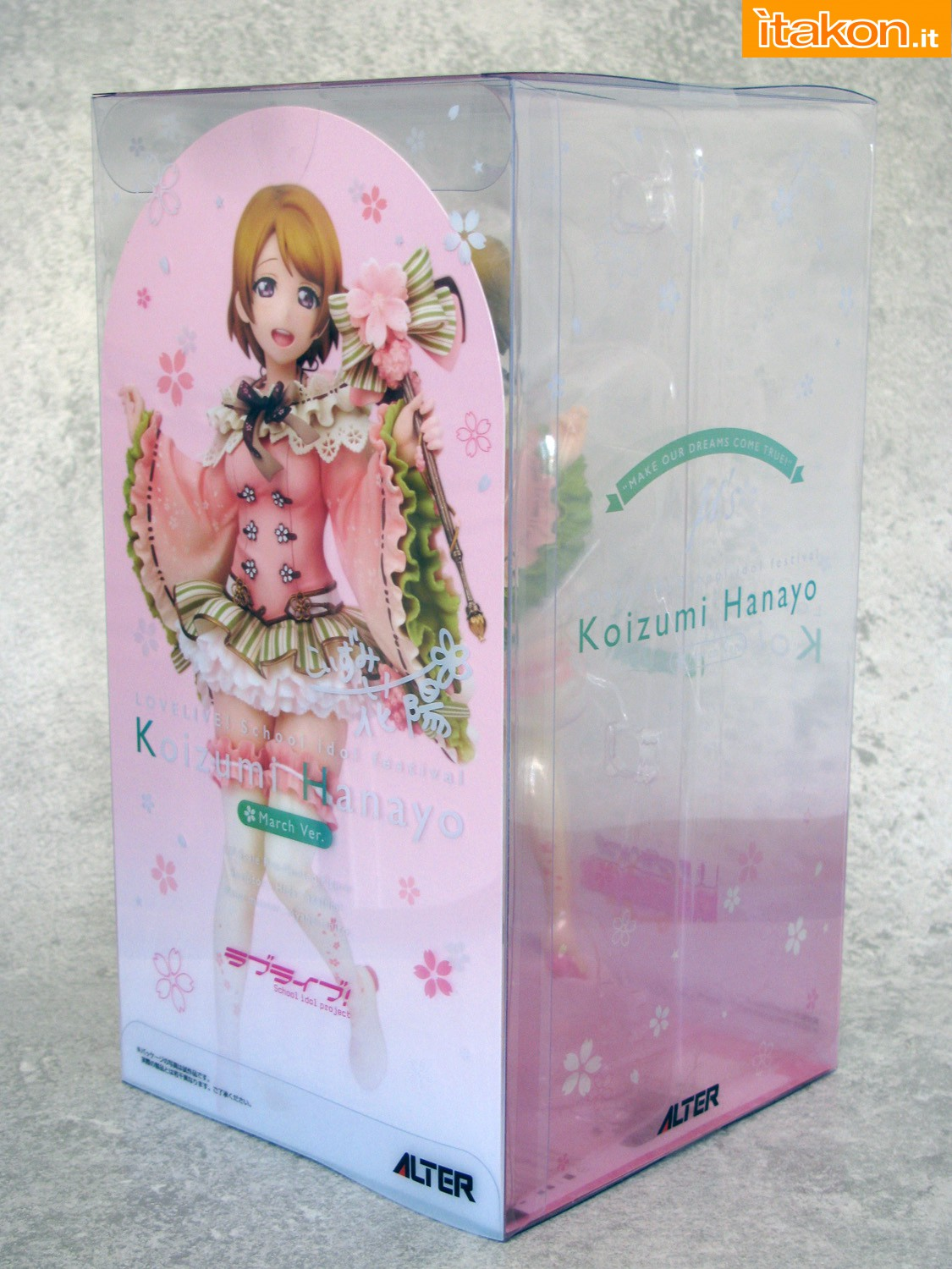 Link a 002 Hanayo Koizkumi March Love Live ALTER recensione