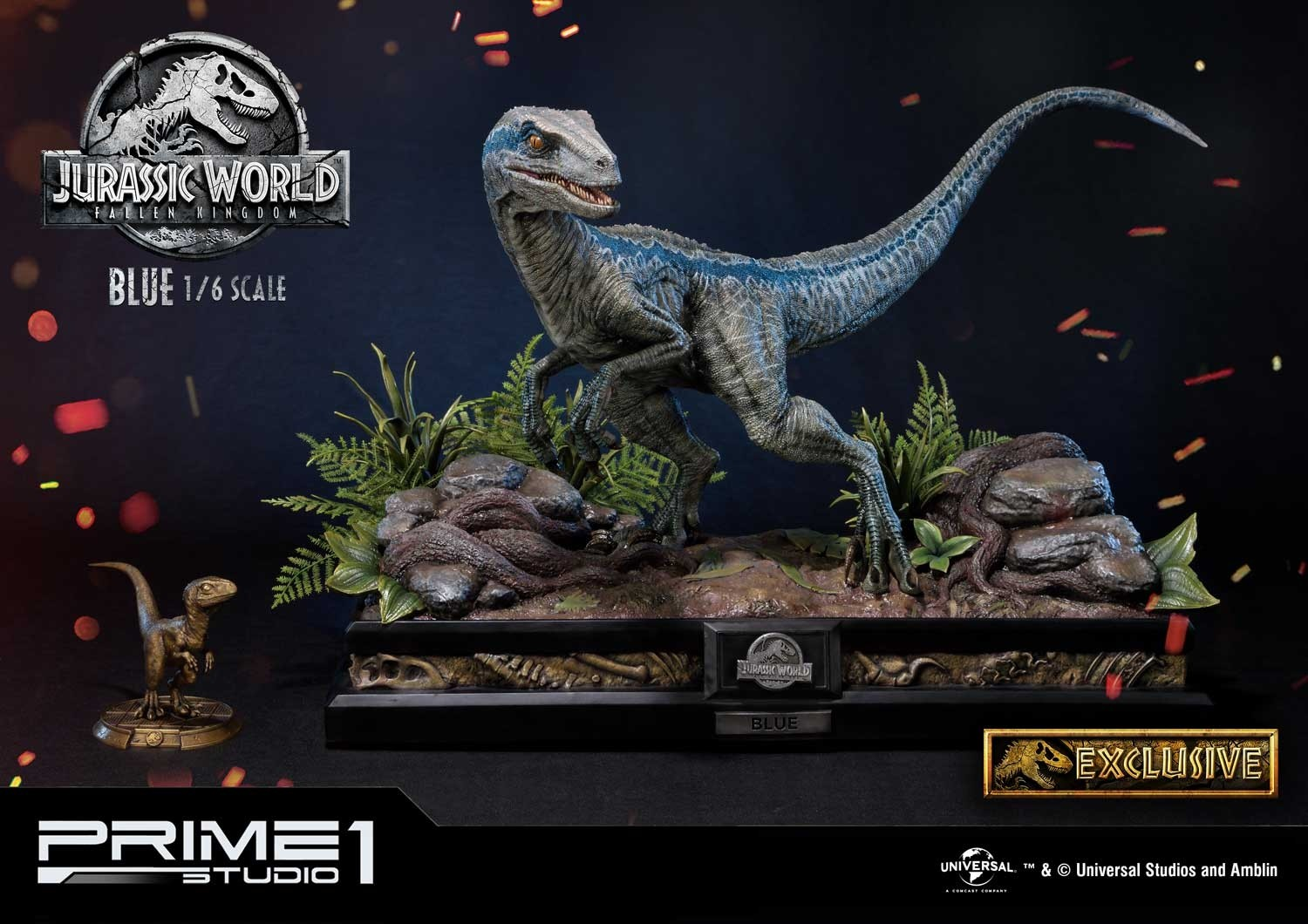 Link a Blue P1S Jurassic World pre 11