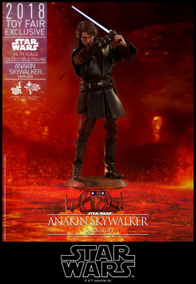 Link a Hot Toys Anakin Dark Side EXCLUSIVE 10