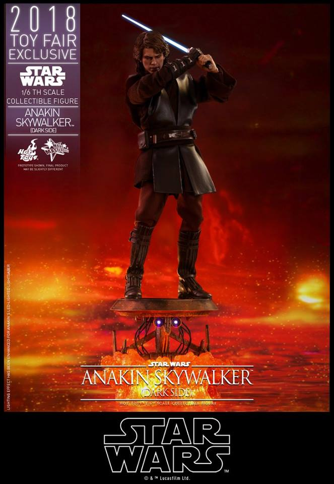 Link a Hot Toys Anakin Dark Side EXCLUSIVE 11