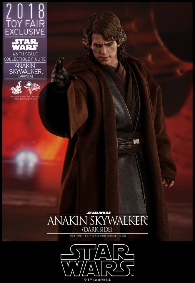 Link a Hot Toys Anakin Dark Side EXCLUSIVE 16