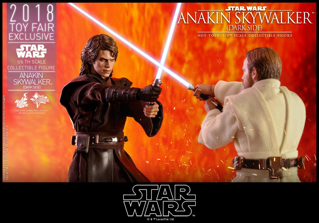 Link a Hot Toys Anakin Dark Side EXCLUSIVE 18