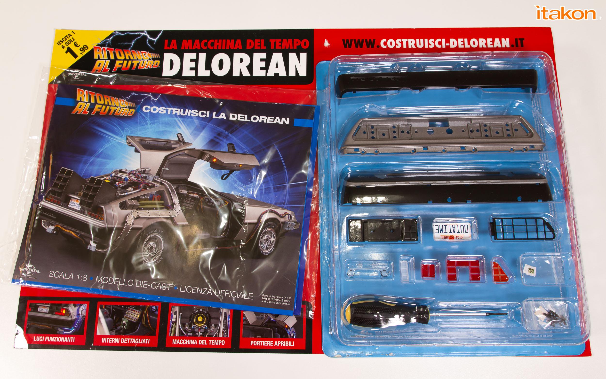 Link a DeLorean Eaglemoss recensione primo numero_59
