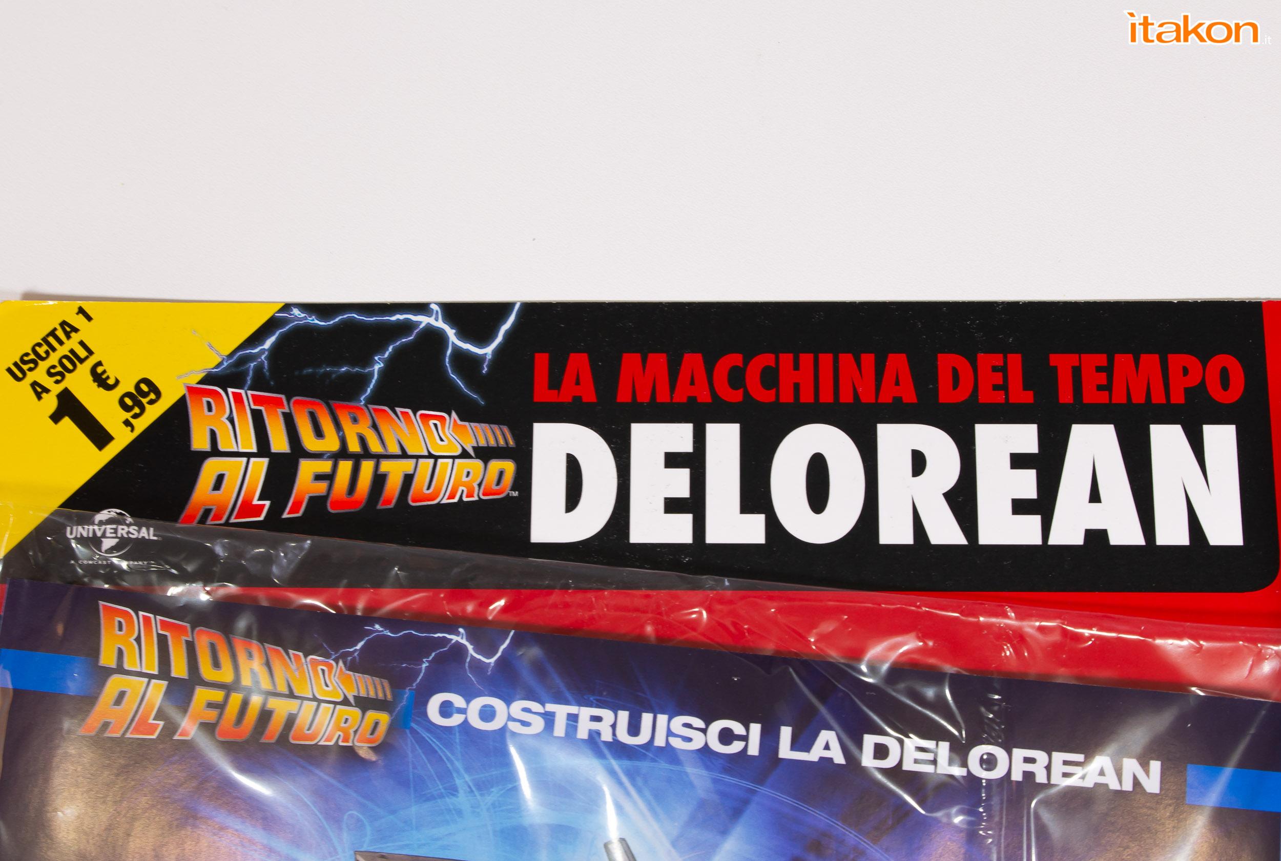 Link a DeLorean Eaglemoss recensione primo numero_61