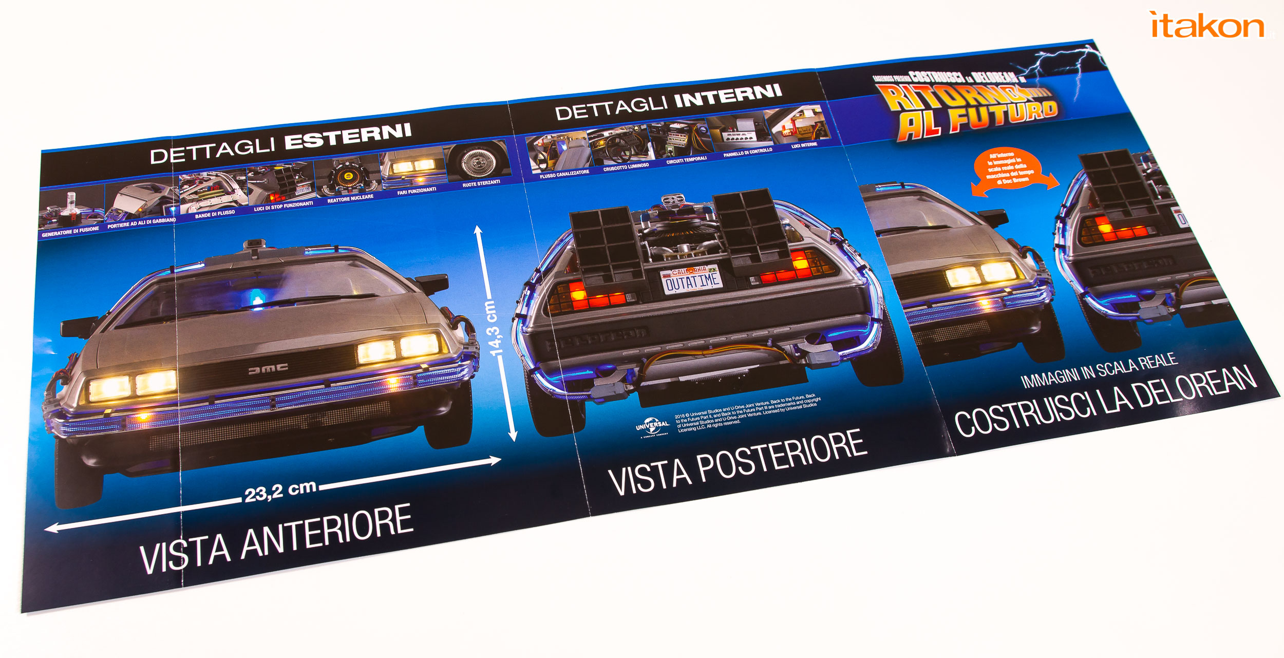 Link a Delorean Eaglemoss 1-8 Review Recensione-11