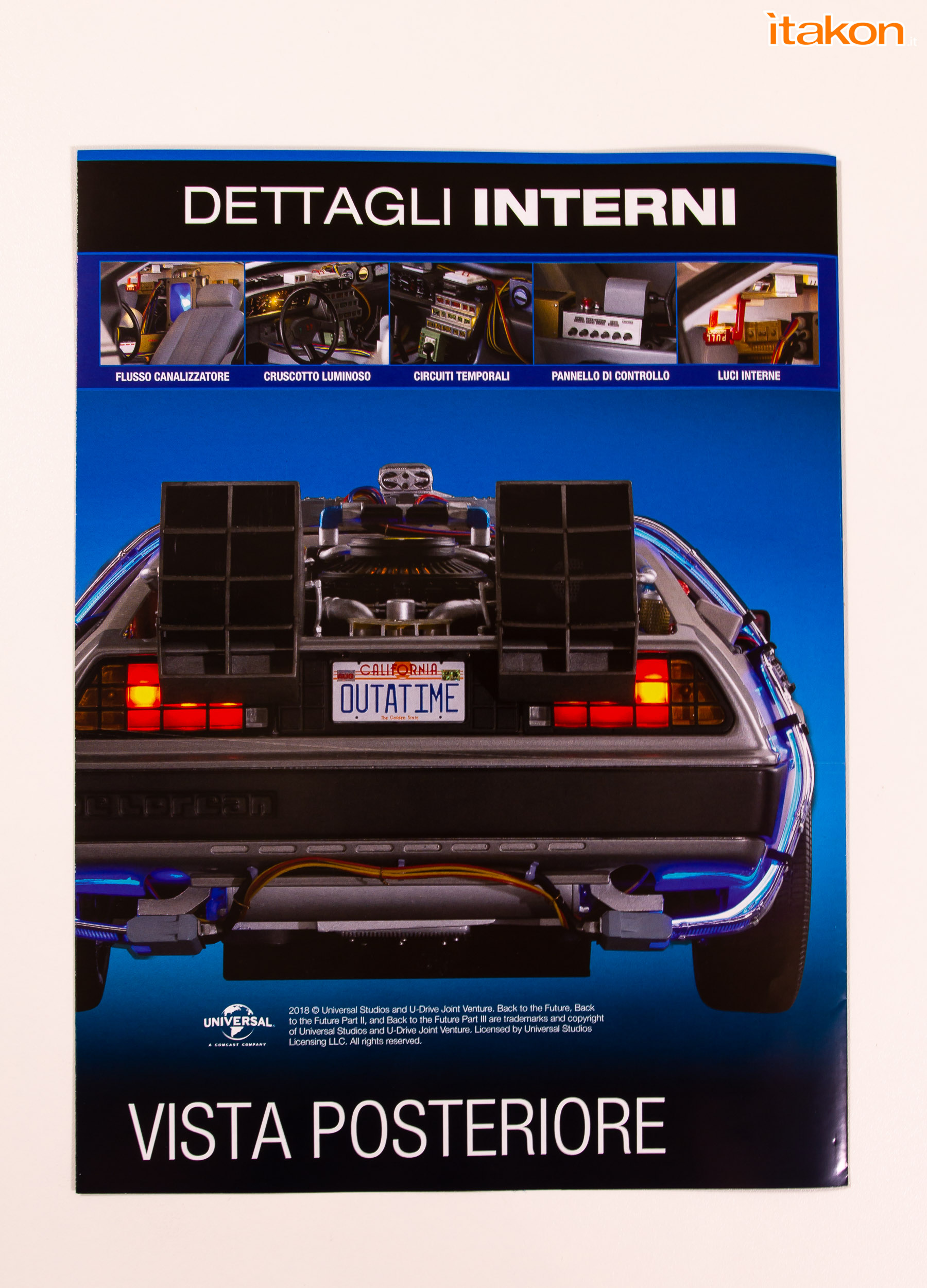 Link a Delorean Eaglemoss 1-8 Review Recensione-8
