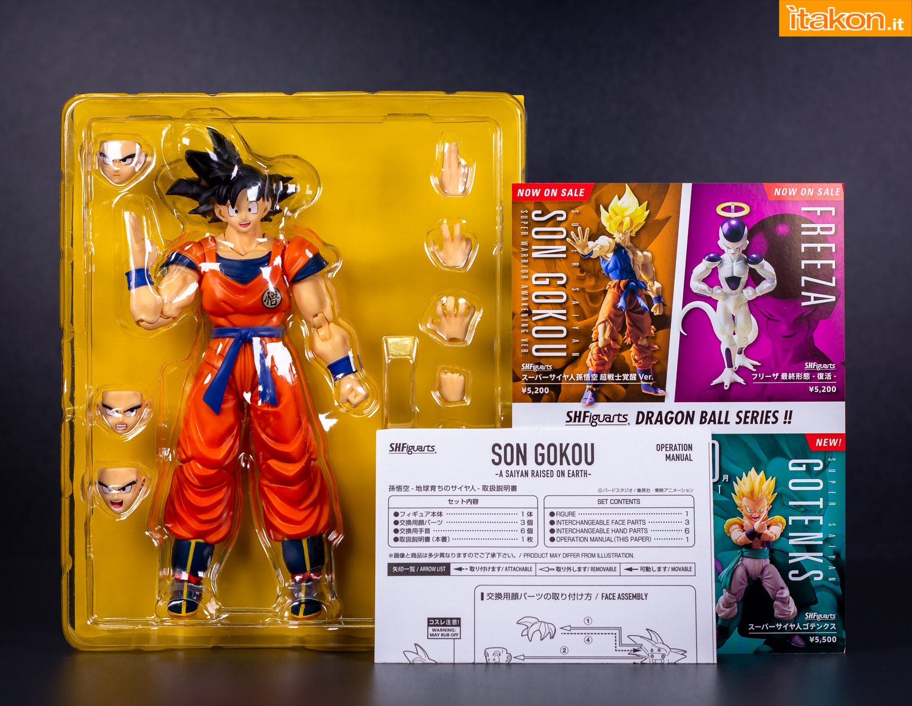 Link a Bandai Son Goku recensione-10