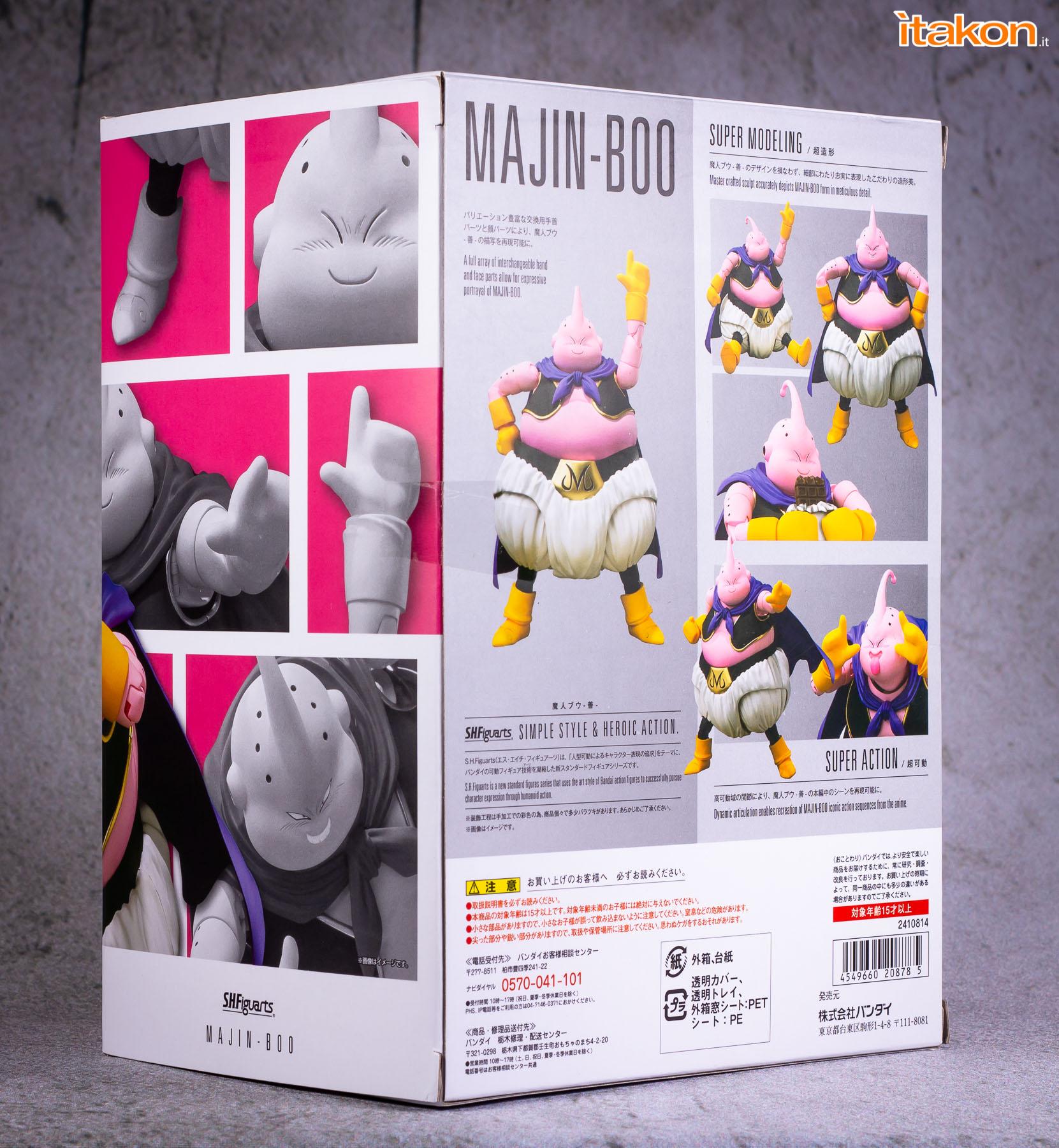 Link a Bandai sh figuarts Majin buu review recensione-4