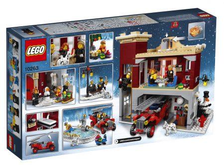 Lego creator expert winter village fire station 10263 u2013 annunciato
