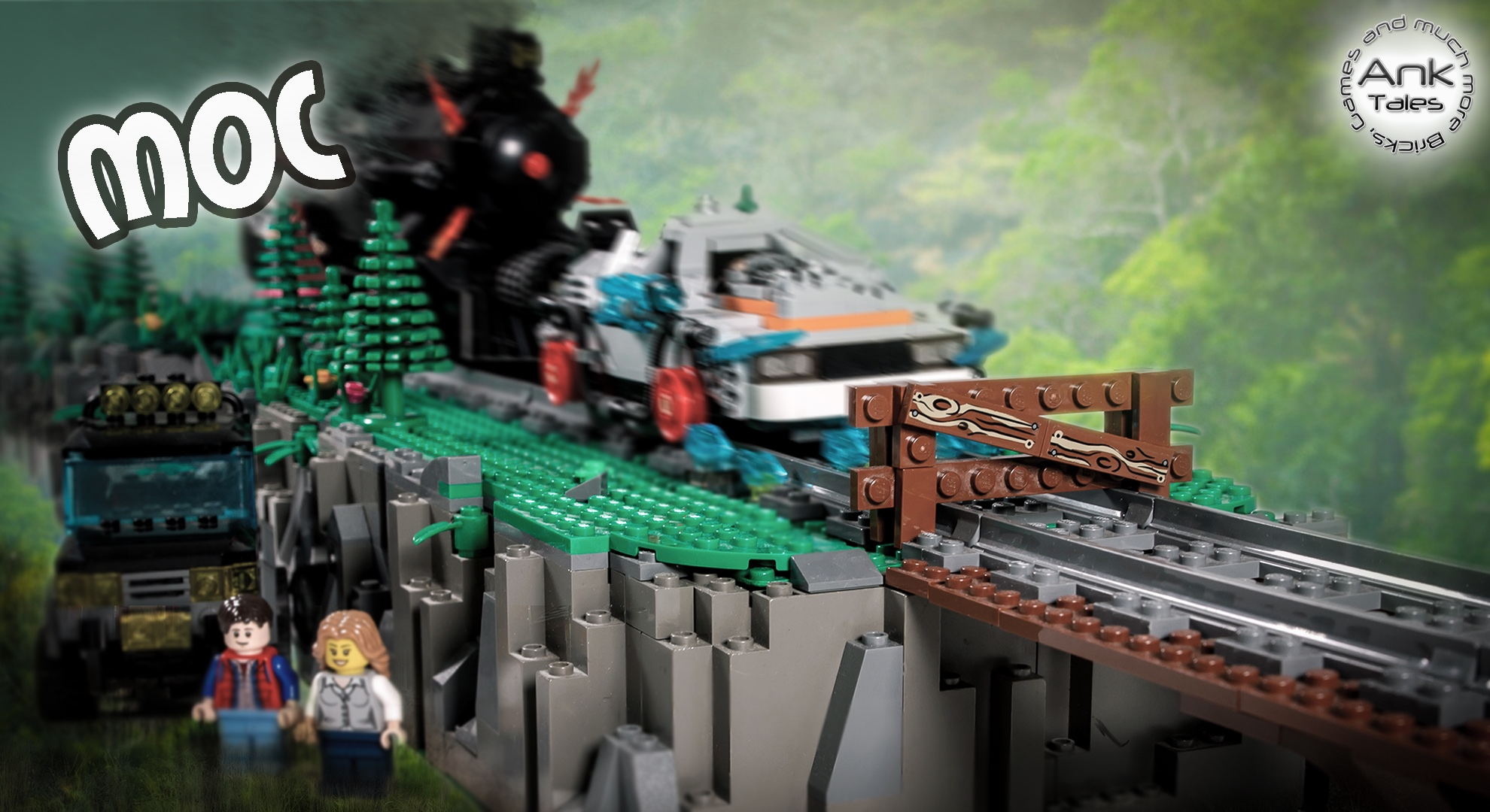 Link a Back to the future moc by Franco