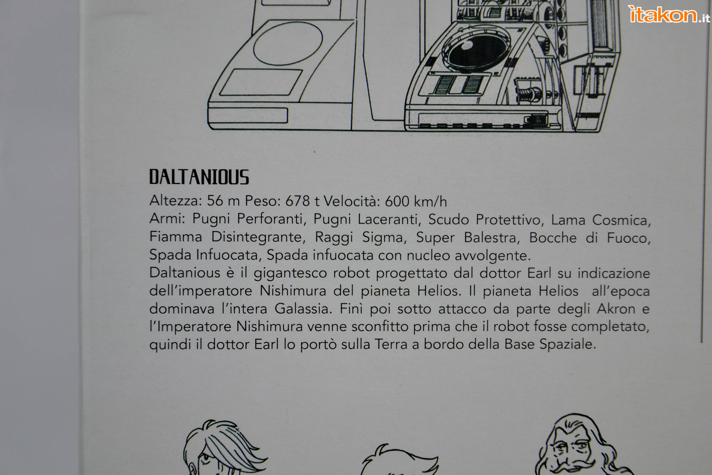Link a Daltanious -4