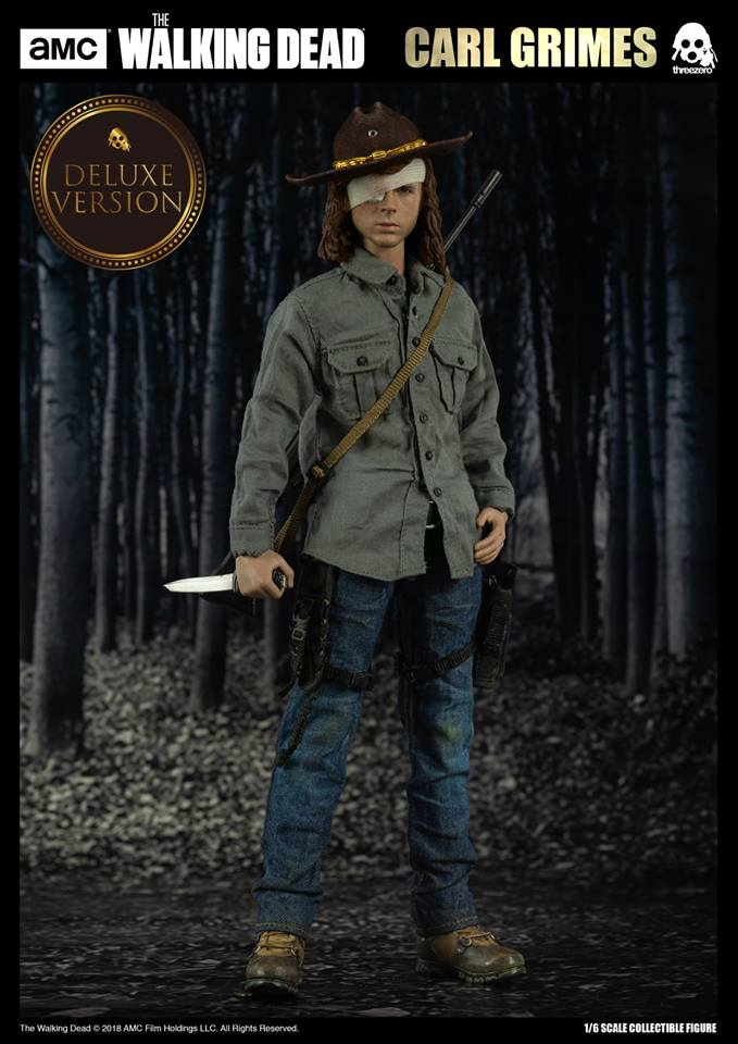 Link a The Walking Dead Carl Grimes Threezero Itakon.it 02