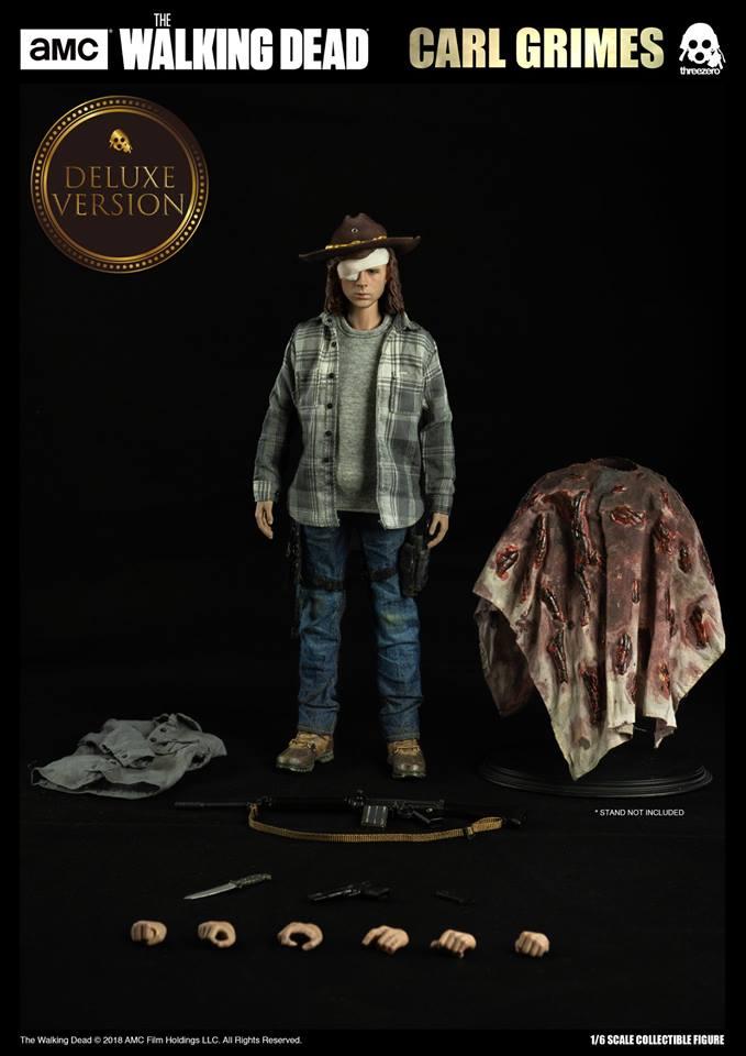 Link a The Walking Dead Carl Grimes Threezero Itakon.it 04
