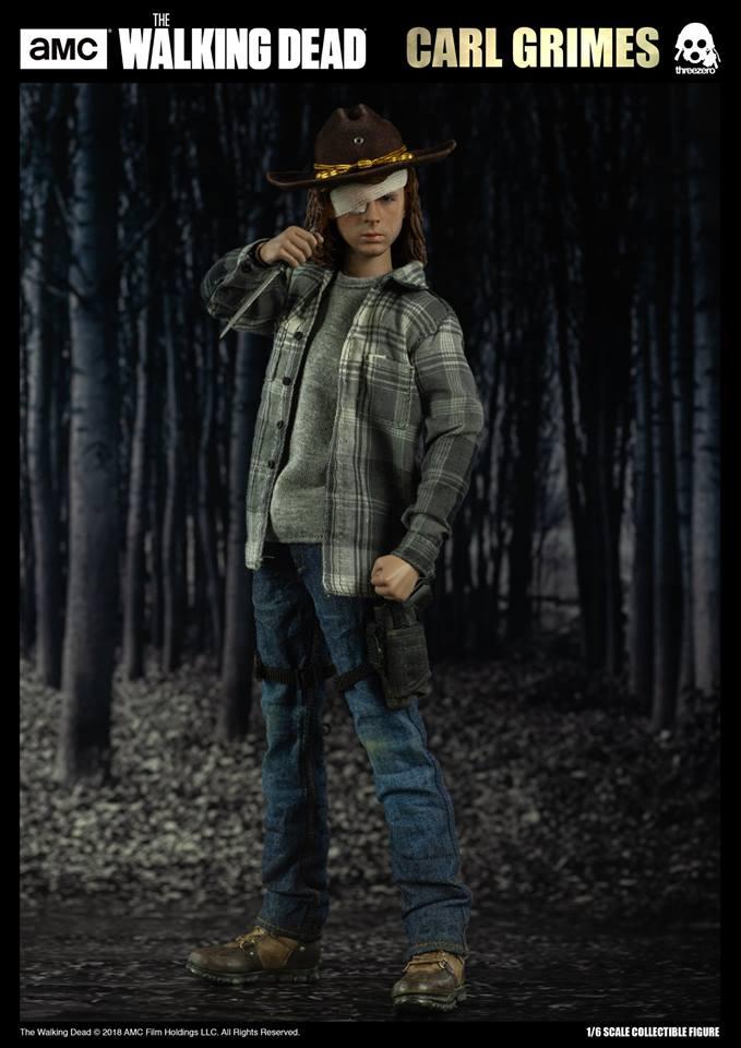 Link a The Walking Dead Carl Grimes Threezero Itakon.it 06