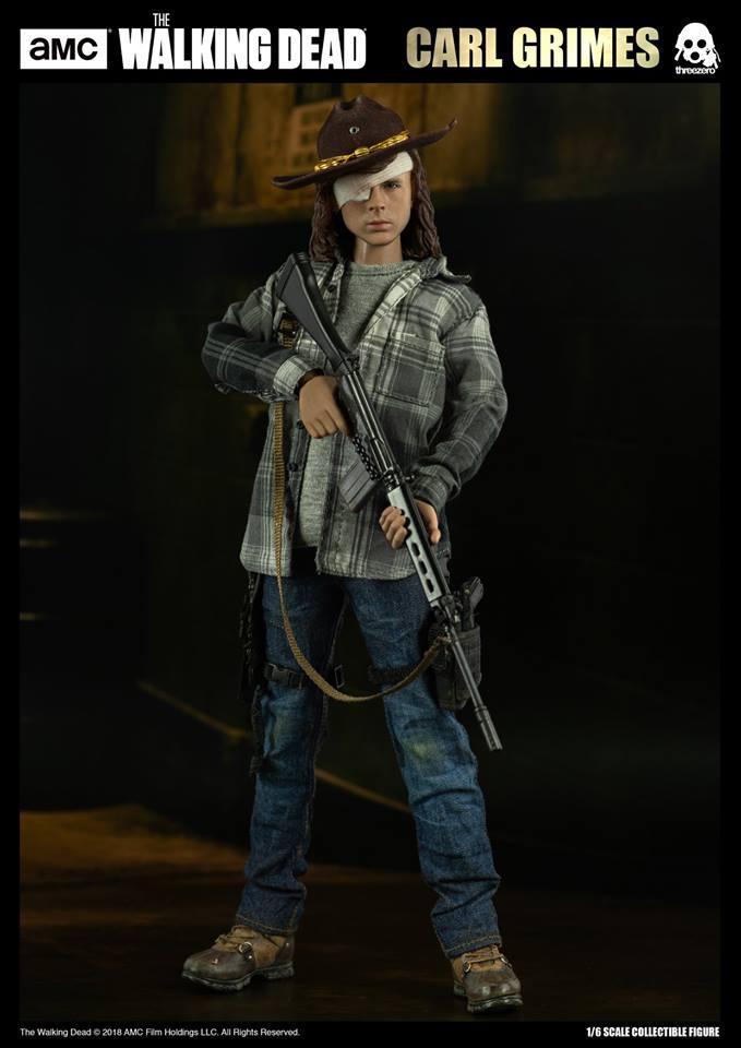 Link a The Walking Dead Carl Grimes Threezero Itakon.it 08