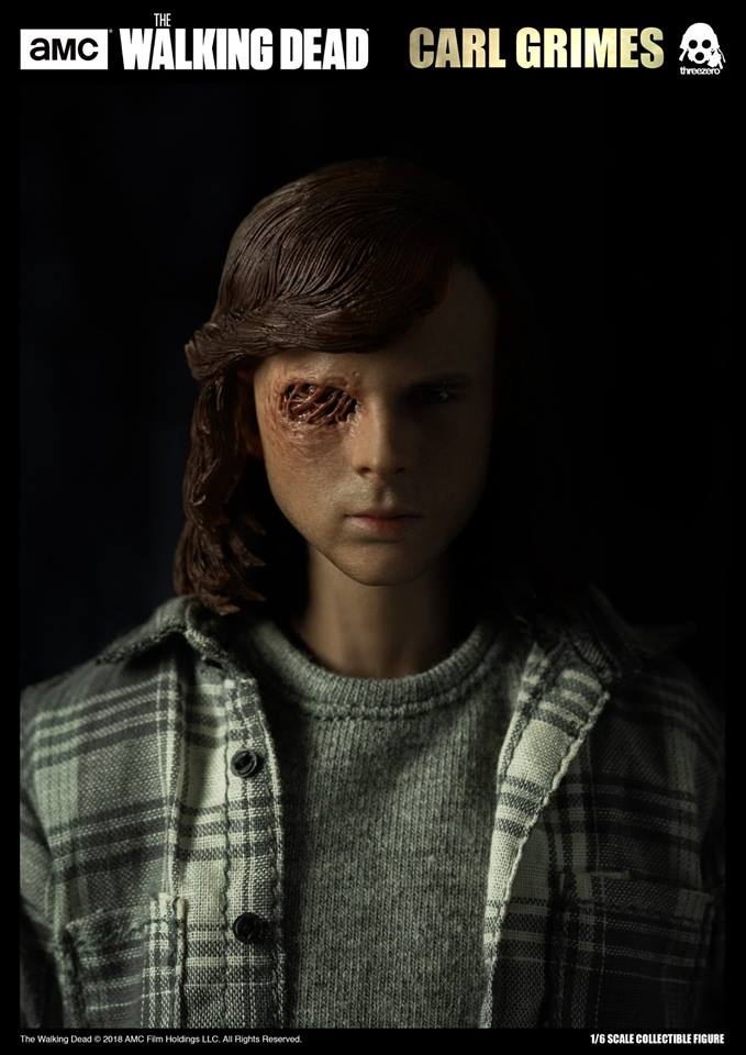 Link a The Walking Dead Carl Grimes Threezero Itakon.it 09