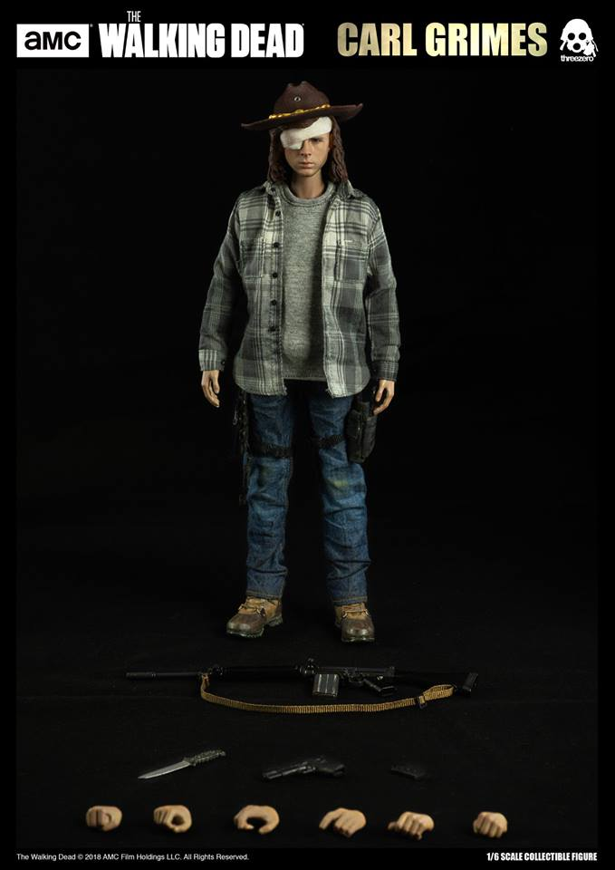 Link a The Walking Dead Carl Grimes Threezero Itakon.it 10