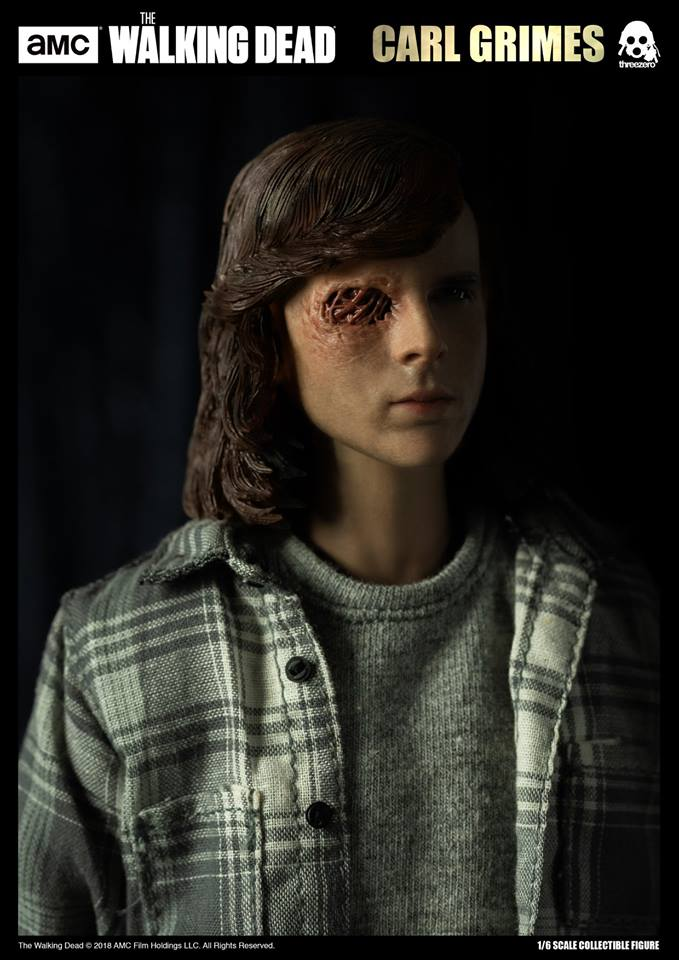 Link a The Walking Dead Carl Grimes Threezero Itakon.it 13