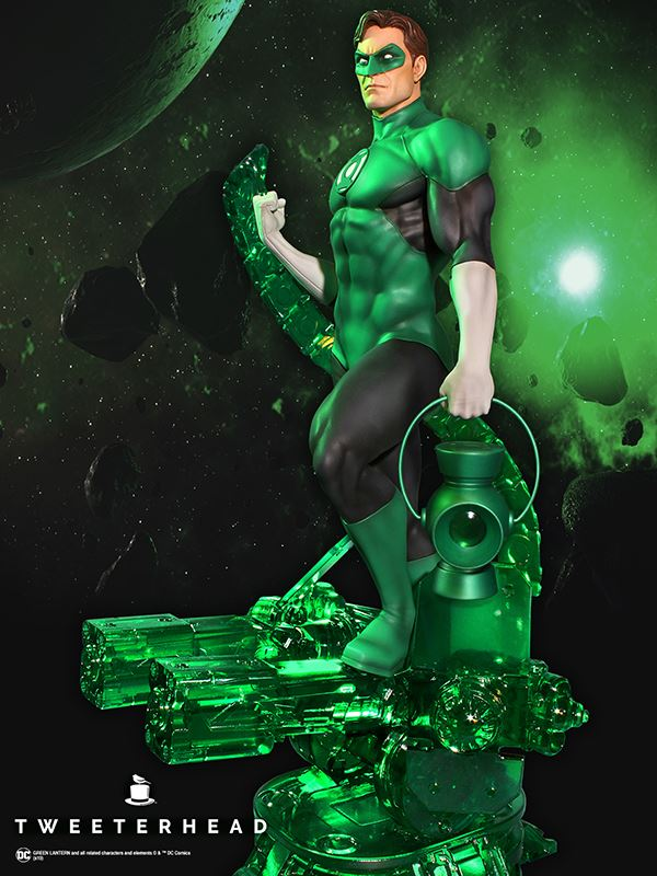 Link a Tweeterhead-Green-Lantern-Statue-006