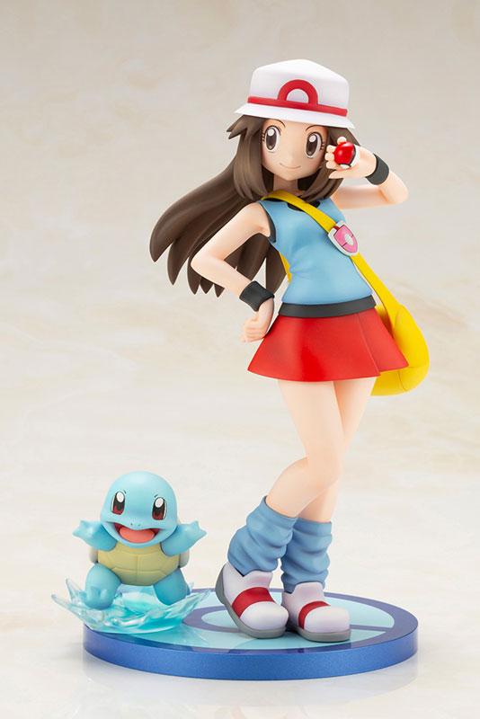 Link a Pokémon Leaf with Squirtle ARTFX J Kotobukiya Itakon.it 02