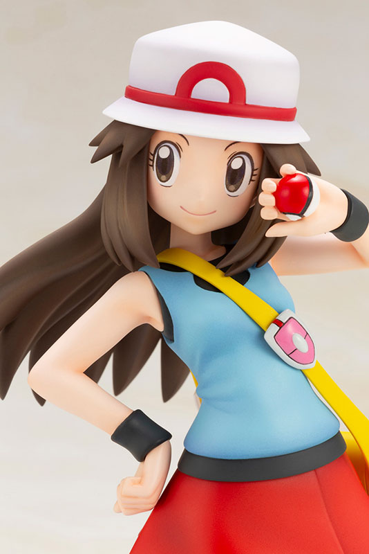 Link a Pokémon Leaf with Squirtle ARTFX J Kotobukiya Itakon.it 09