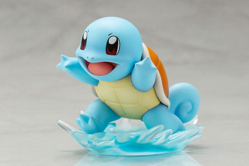 Link a Pokémon Leaf with Squirtle ARTFX J Kotobukiya Itakon.it 11