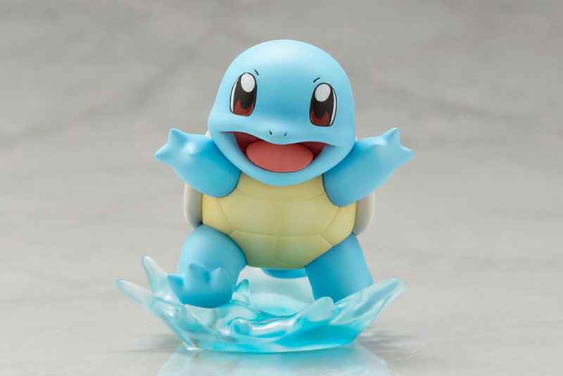 Link a Pokémon Leaf with Squirtle ARTFX J Kotobukiya Itakon.it 14