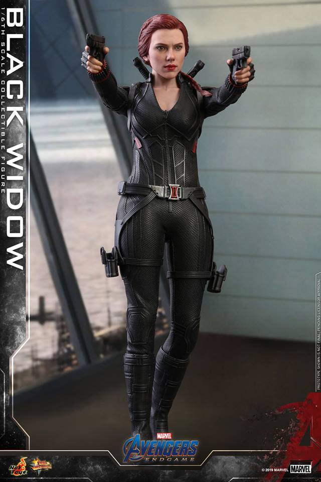 Link a black widow – avengers endgame – hot toys – 5