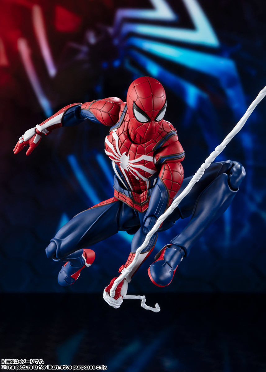 Link a spiderman – figuarts – advanced suit – pre – 1