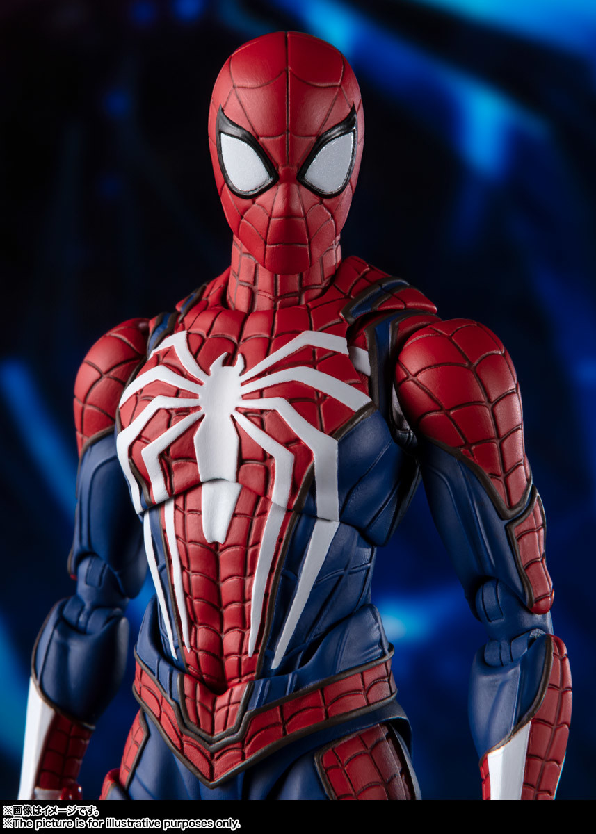 Link a spiderman – figuarts – advanced suit – pre – 11
