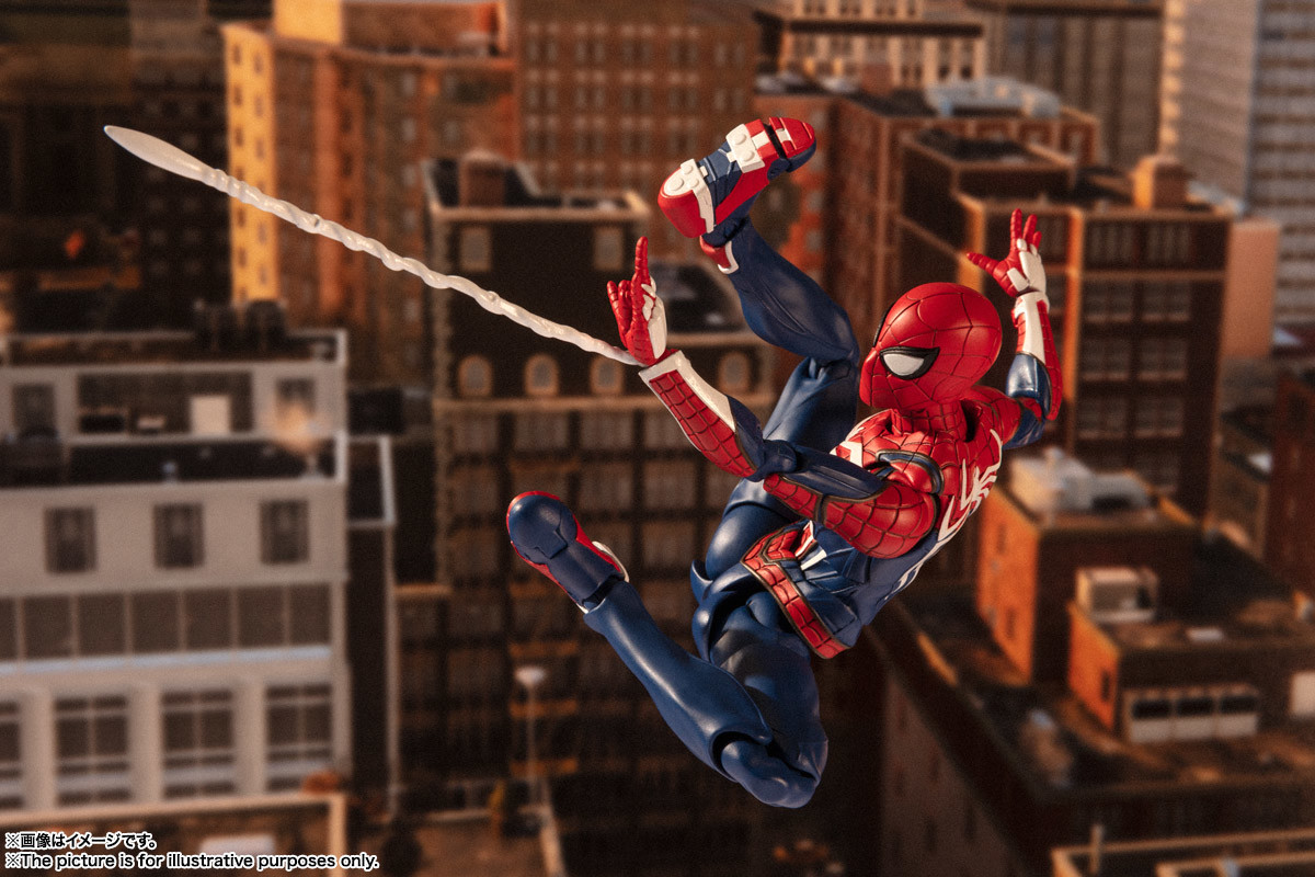Link a spiderman – figuarts – advanced suit – pre – 15