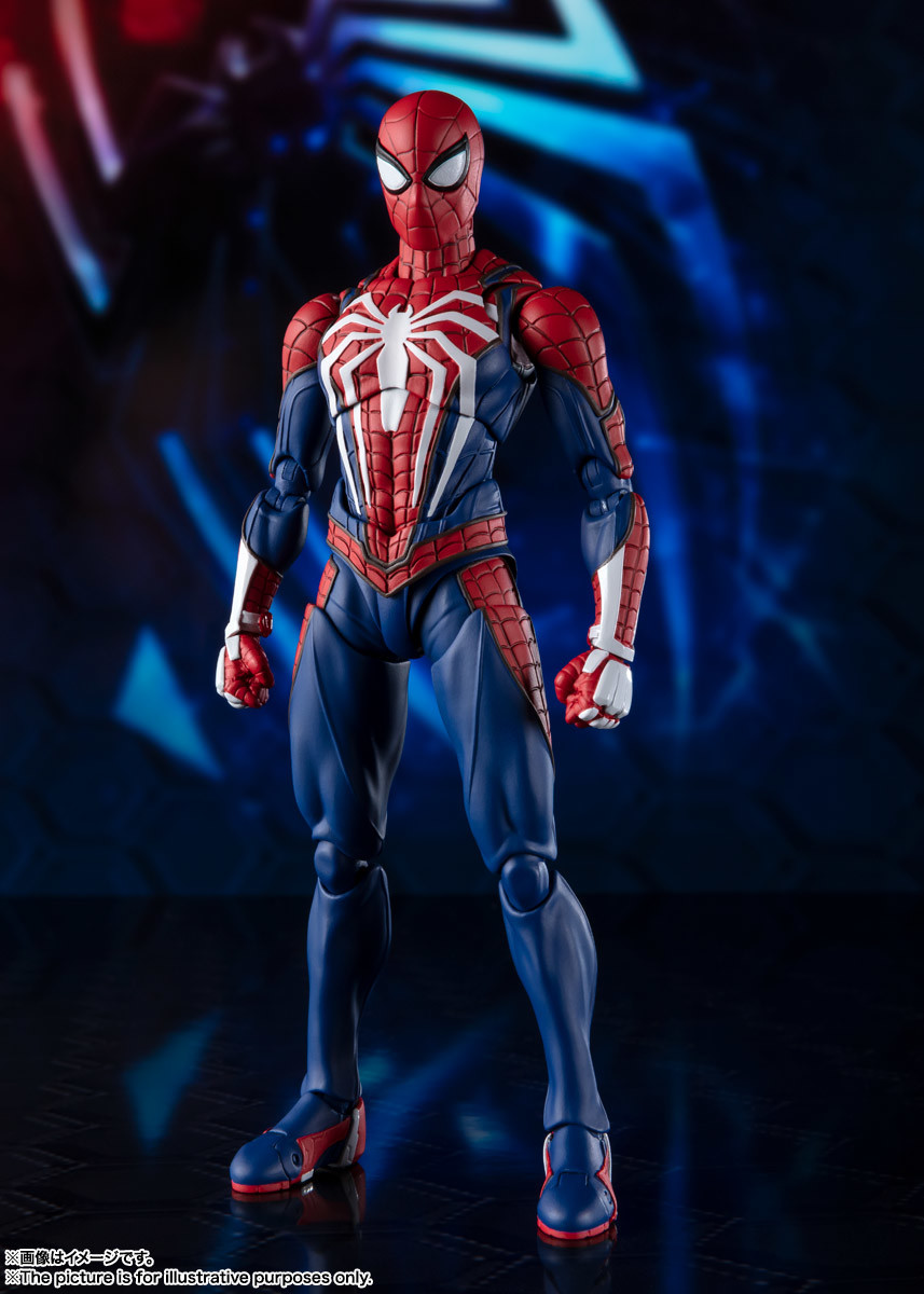 Link a spiderman – figuarts – advanced suit – pre – 2