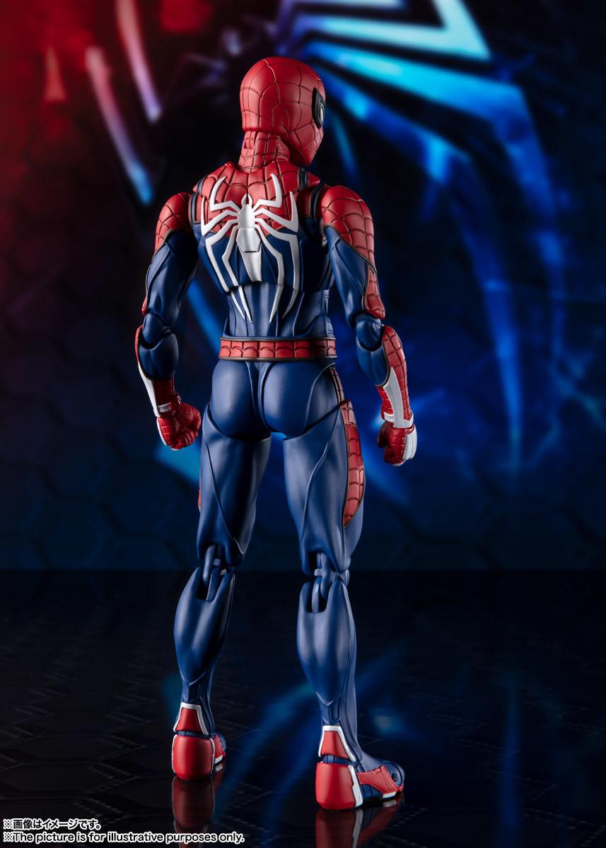 Link a spiderman – figuarts – advanced suit – pre – 3