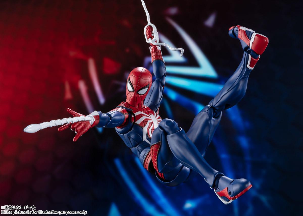 Link a spiderman – figuarts – advanced suit – pre – 5