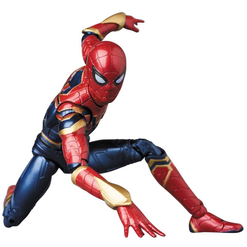 Link a Avengers Infinity War Iron Spider MAFEX Medicom Toy Itakon.it 01