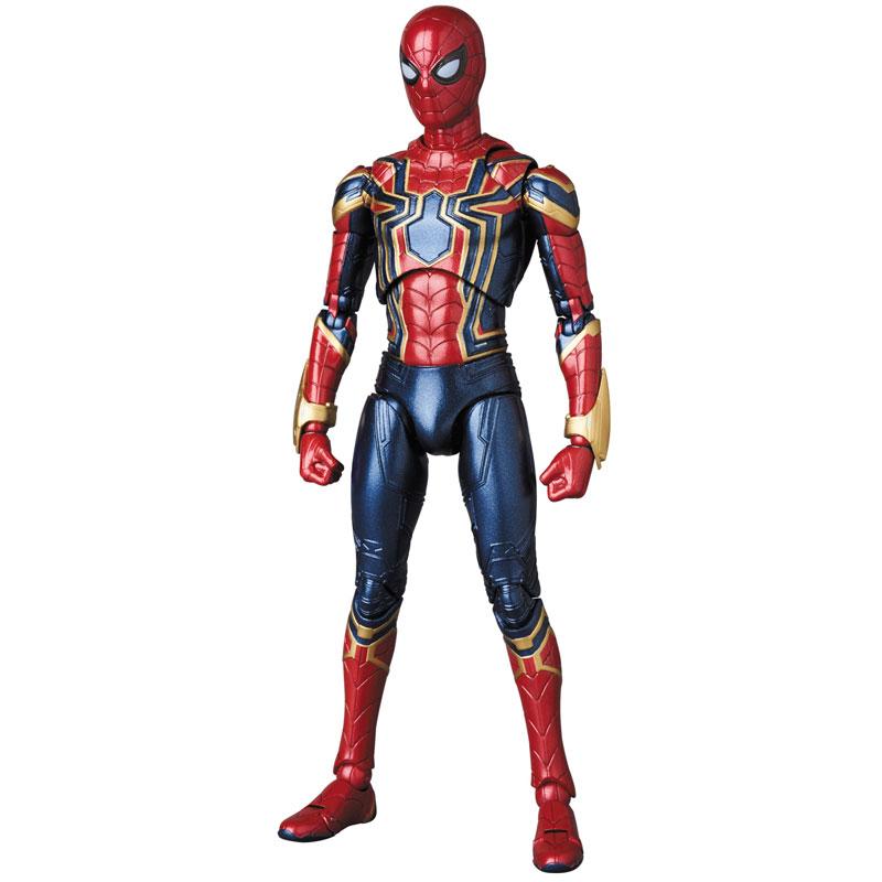 Link a Avengers Infinity War Iron Spider MAFEX Medicom Toy Itakon.it 02