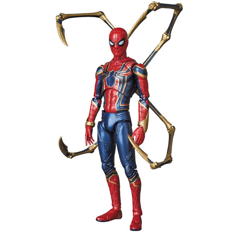 Link a Avengers Infinity War Iron Spider MAFEX Medicom Toy Itakon.it 04