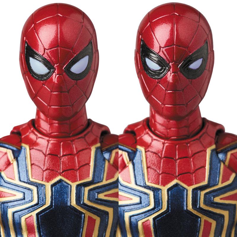Link a Avengers Infinity War Iron Spider MAFEX Medicom Toy Itakon.it 06