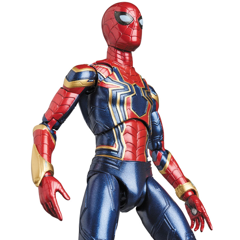 Link a Avengers Infinity War Iron Spider MAFEX Medicom Toy Itakon.it 08