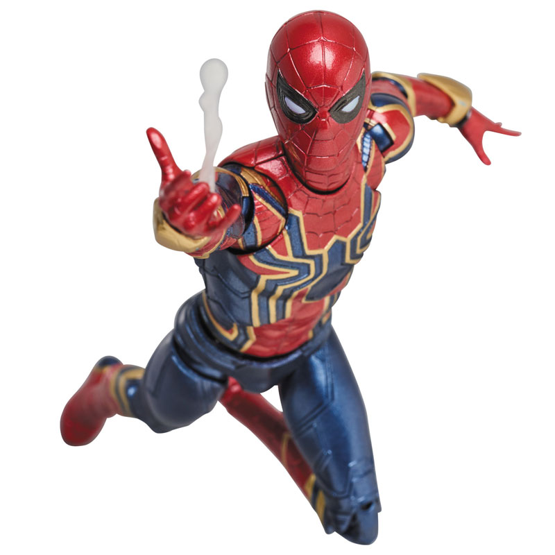 Link a Avengers Infinity War Iron Spider MAFEX Medicom Toy Itakon.it 09