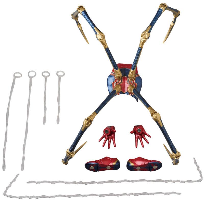 Link a Avengers Infinity War Iron Spider MAFEX Medicom Toy Itakon.it 10