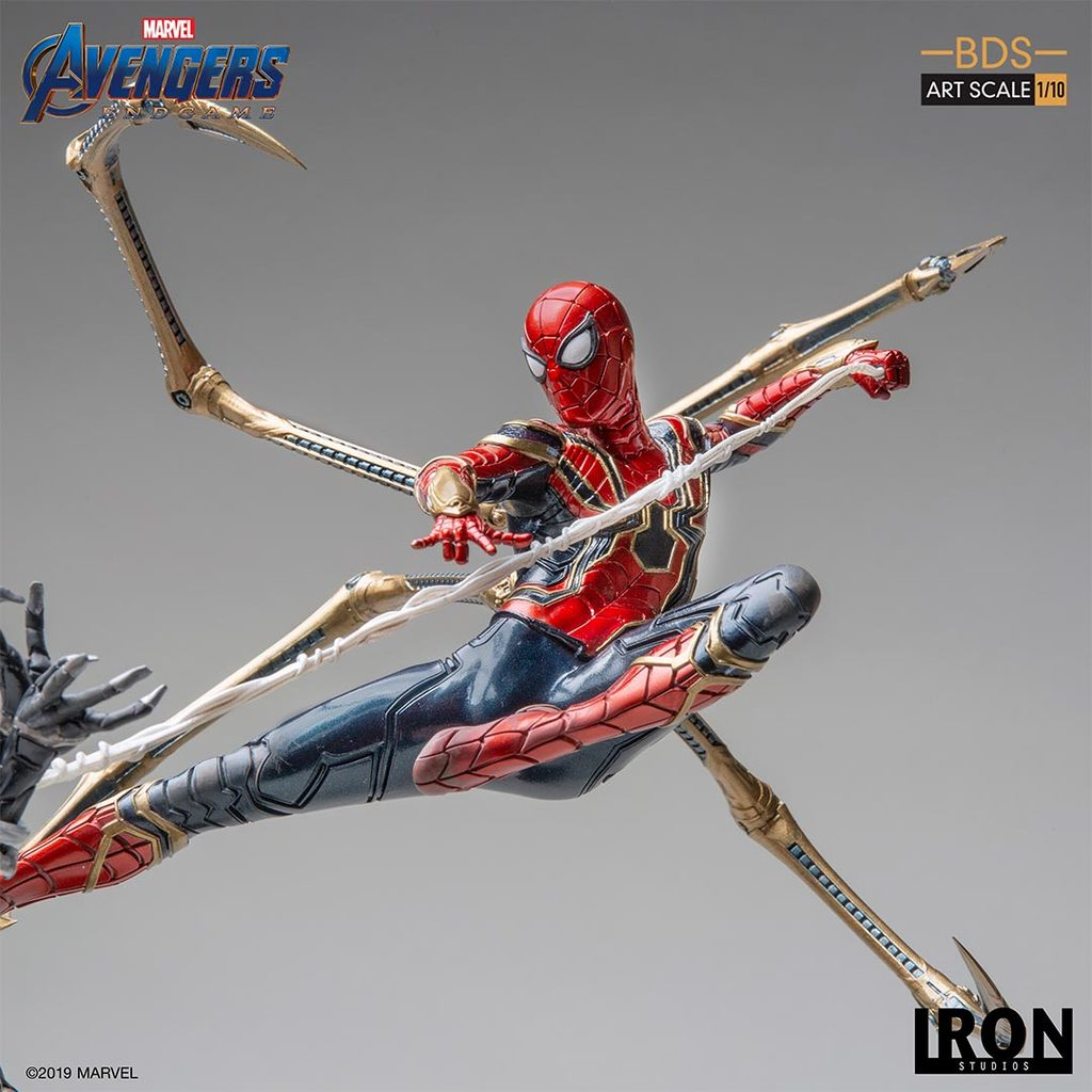 Link a Iron-Spider-BDS-Statue-013