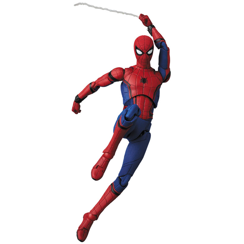 Link a Spider-Man Homecoming Spider-Man MAFEX Medicom Toy Itakon.it 01