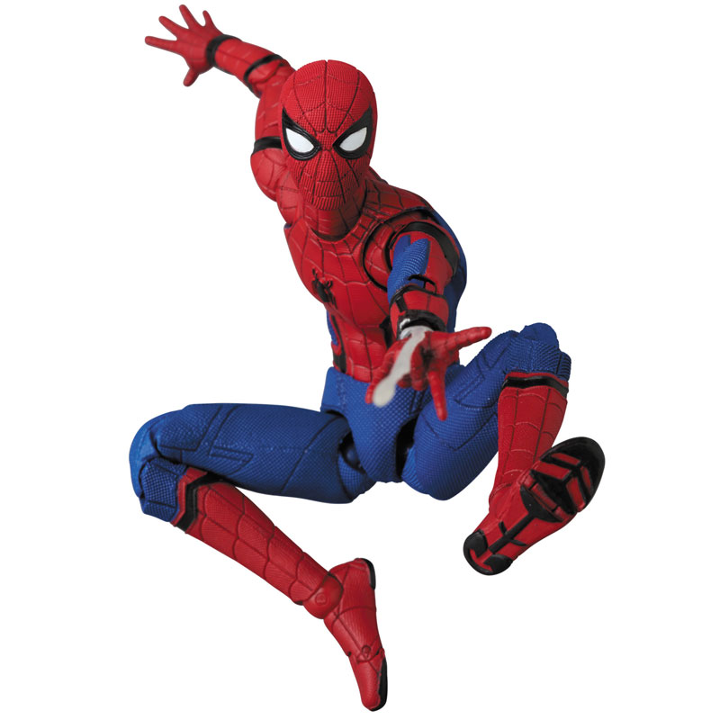Link a Spider-Man Homecoming Spider-Man MAFEX Medicom Toy Itakon.it 10