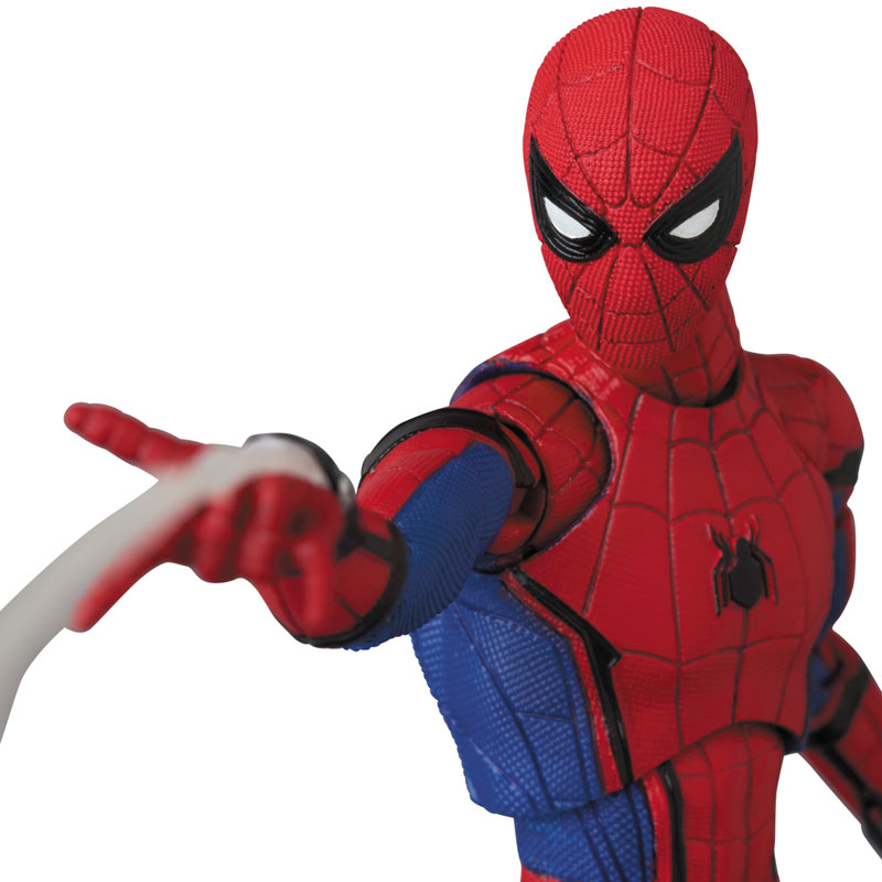 Link a Spider-Man Homecoming Spider-Man MAFEX Medicom Toy Itakon.it 11